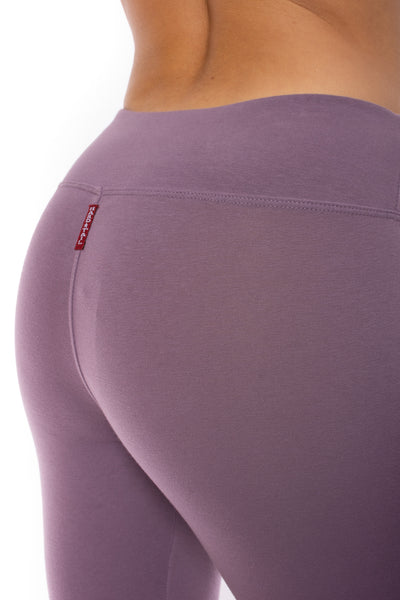 Hard Tail Forever - Flat Waist Capri (W-374, Grape Vine) alt view 3