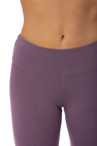 Hard Tail Forever - Flat Waist Capri (W-374, Grape Vine) alt view 4