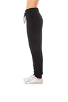 Bobi - Ruflle Paperbag Pants (579-33717, Black) alt view 1