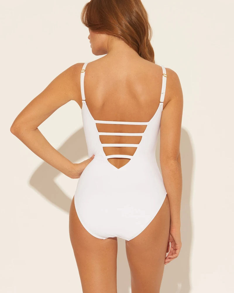 Bleu Rod Beattie White Hole in One Plunge One Piece