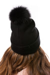 Mitchie's - Bad Hair Day Knit Hat (HTRA05, Black) alt view 1