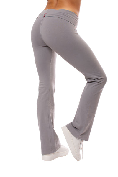 Hard Tail Forever - Roll Down Boot Leg Pants (330, Nickel) alt view 2