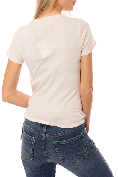Chaser - Jersey Basic Slim T (CW7393-CHA5058, Cream) alt view 2