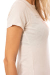 Chaser - Jersey Basic Slim T (CW7393-CHA5058, Cream) alt view 3