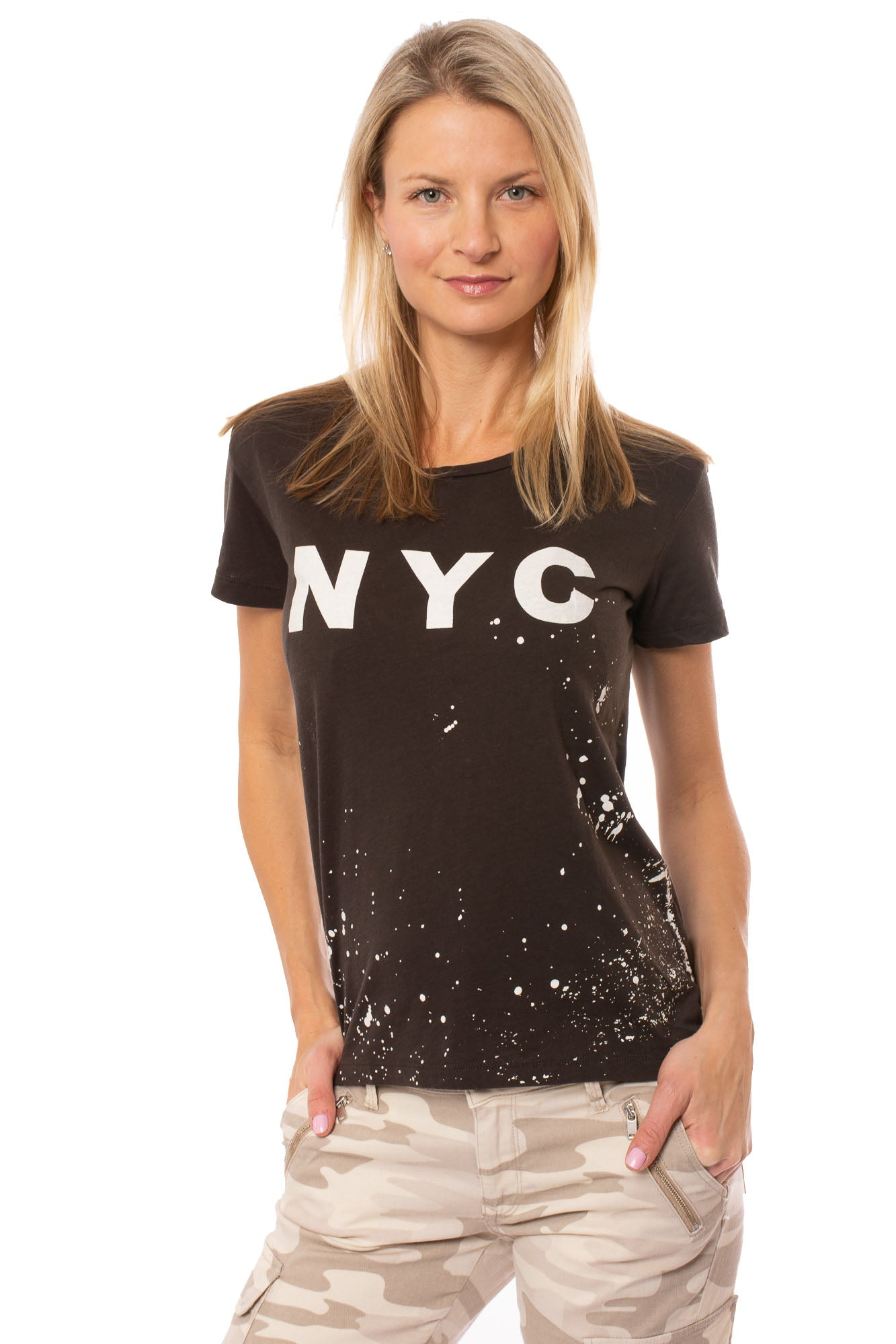 Chaser - Nyc Short Sleeve Crew Neck T (CW6296-CHA5087, Urban Camo)