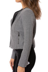 Lysse - Ramona Jacket (2601, Charcoal) alt view 2