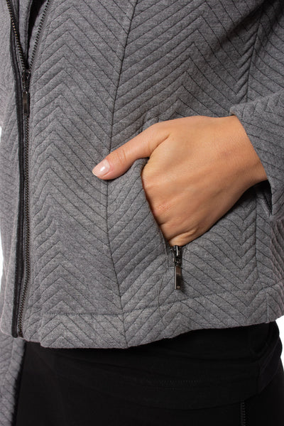 Lysse - Ramona Jacket (2601, Charcoal) alt view 7