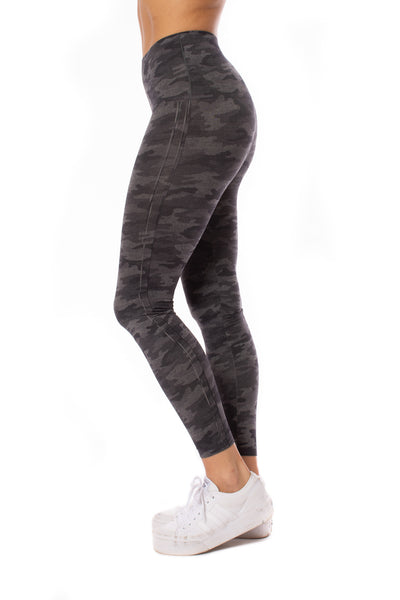 Spanx - Look At Me Know Legging (fl3515, Gray Camo) alt view 1