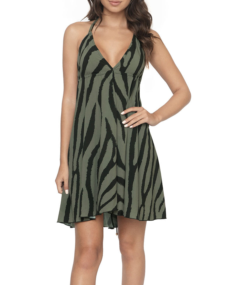 PQ Swim Tiger Print Gianna Dress