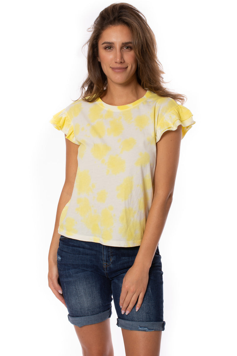 Velvet Heart - Maison Shirt (KJ1-23297, Yellow Tie-Dye)