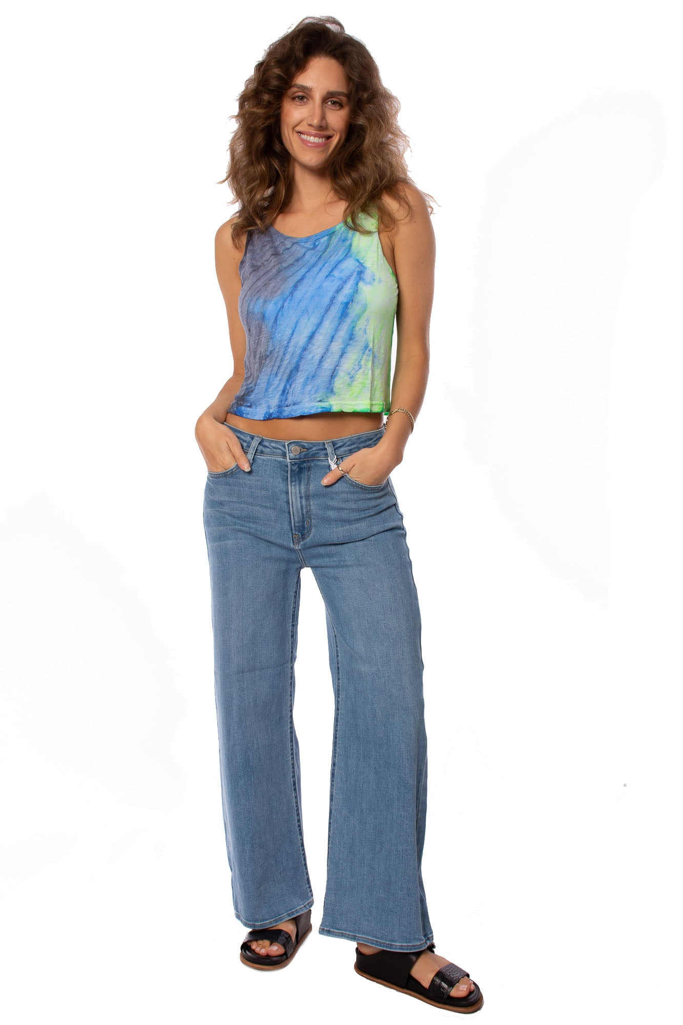 DL1961 - Hepburn Wide Leg Pants (12763, Black)