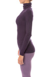 Hard Tail Forever - Thermal Long Sleeve Turtle Neck (TH-35, Deep Purple) alt view 1