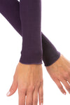 Hard Tail Forever - Thermal Long Sleeve Turtle Neck (TH-35, Deep Purple) alt view 3