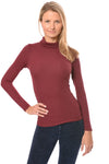 LA Made - Britt Turtle Neck (S21009, Wild Berry)