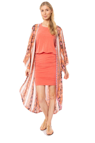 Meet me in Miami - Miami Duster (MIAMI DUSTER, Pink & Orange)