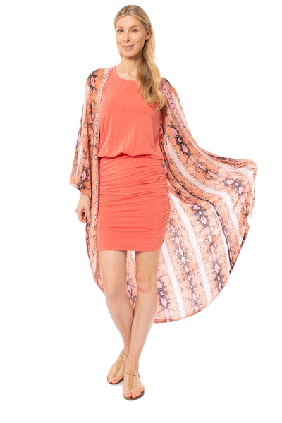 Meet me in Miami - Miami Duster (MIAMI DUSTER, Pink & Orange) alt view 1