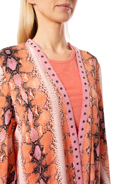 Meet me in Miami - Miami Duster (MIAMI DUSTER, Pink & Orange) alt view 4