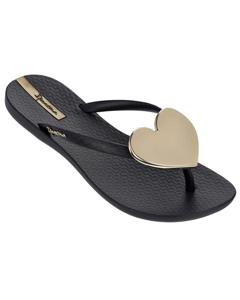 Ipanema Wave Heart Black/Gold