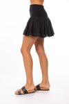 Hard Tail Forever - Cha Cha Mini Skirt (VG-03, Black) alt view 1