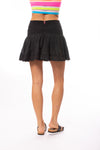 Hard Tail Forever - Cha Cha Mini Skirt (VG-03, Black) alt view 2