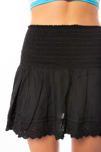 Hard Tail Forever - Cha Cha Mini Skirt (VG-03, Black) alt view 5