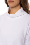 Hard Tail Forever - Cowl Neck Pullover (DL-14, White) alt view 6