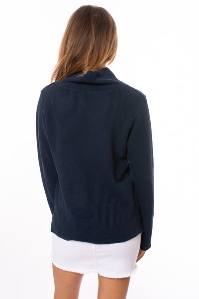 Hard Tail Forever - Cowl Neck Pullover (DL-14, Past Midnight) alt view 2