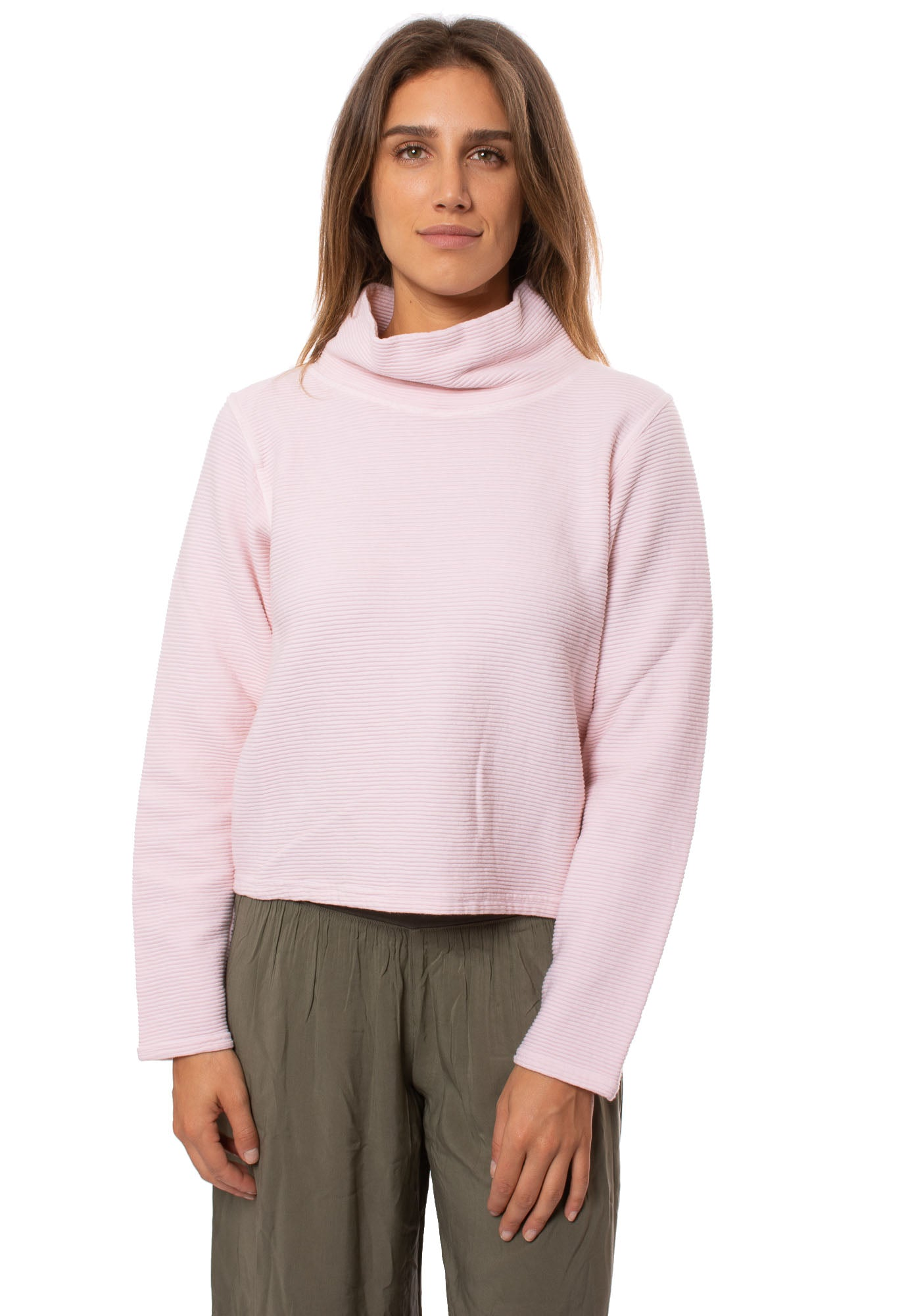 Hard Tail Forever - Cowl Neck Pullover (DL-14, Crystal)