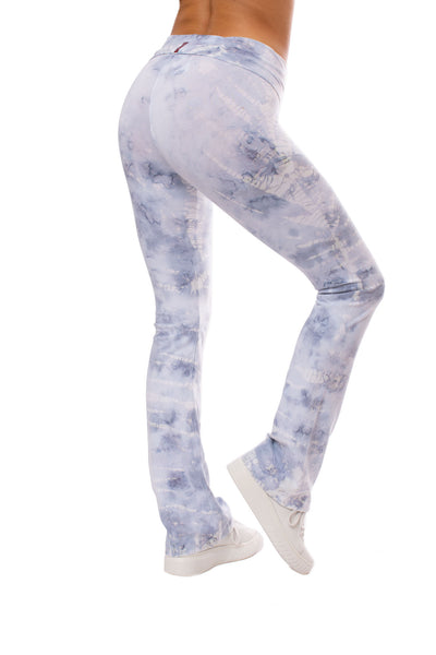Hard Tail Forever - Roll Down Boot Leg Pants (330, Tie-Dye STW2) alt view 1