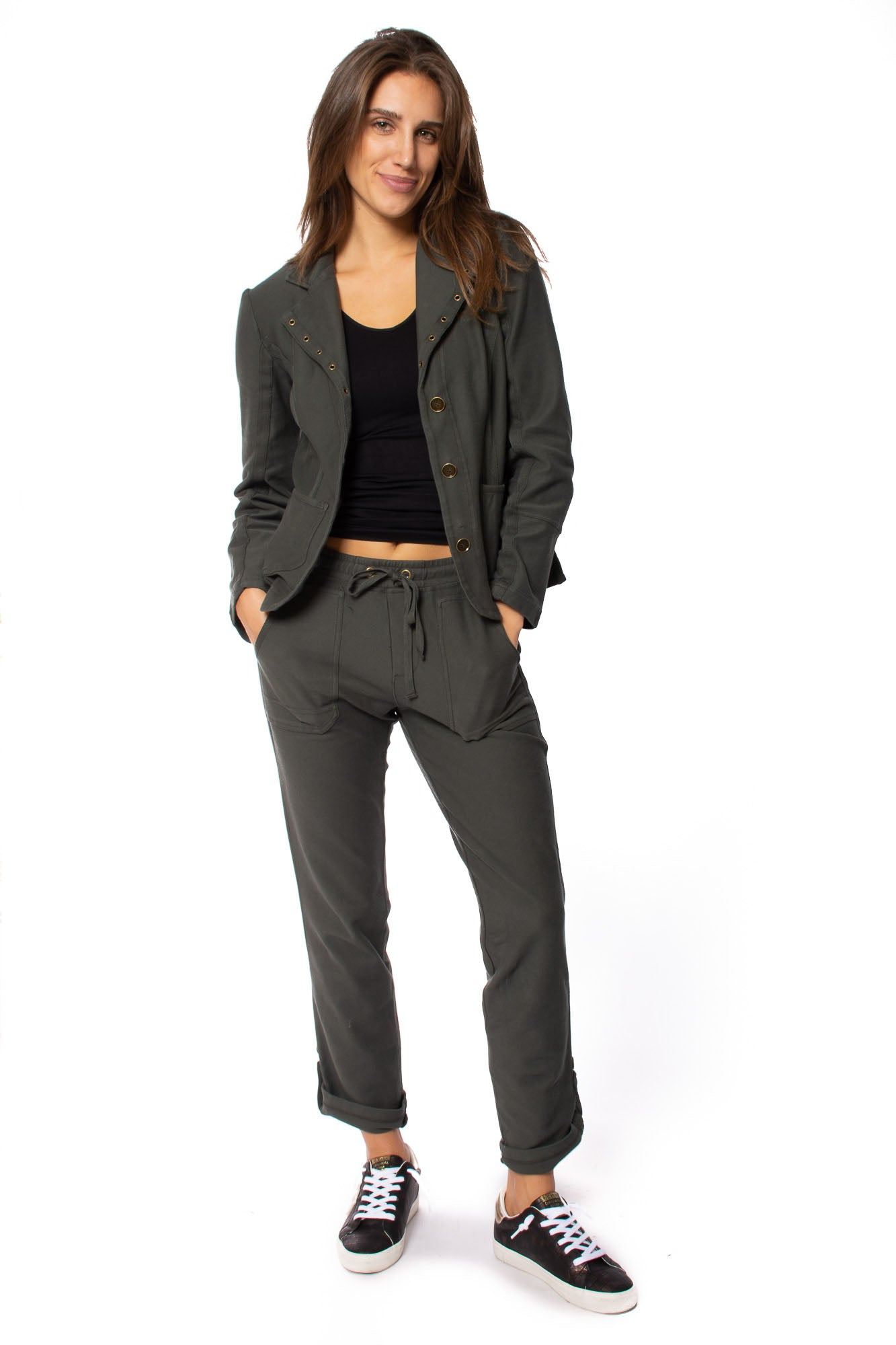 XCVI - Olsen Jacket (13871, Dark Grey)