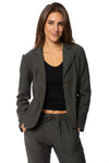 XCVI - Olsen Jacket (13871, Dark Grey) alt view 1