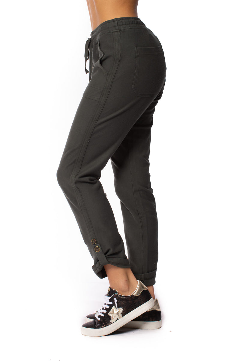 XCVI - Sturges Relaxed Draw String Pants (22455, Dark Grey)