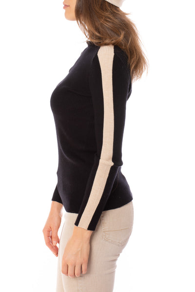 Kerisma - Frame Turtle Neck Sweater (G616, Black) alt view 2
