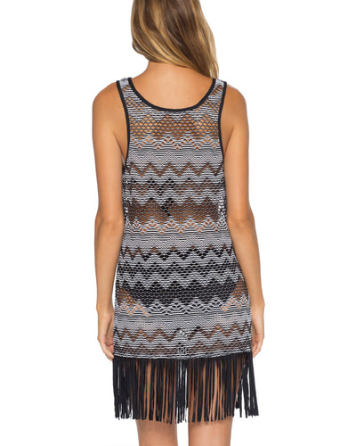 Becca Fringe Dress alt view 1