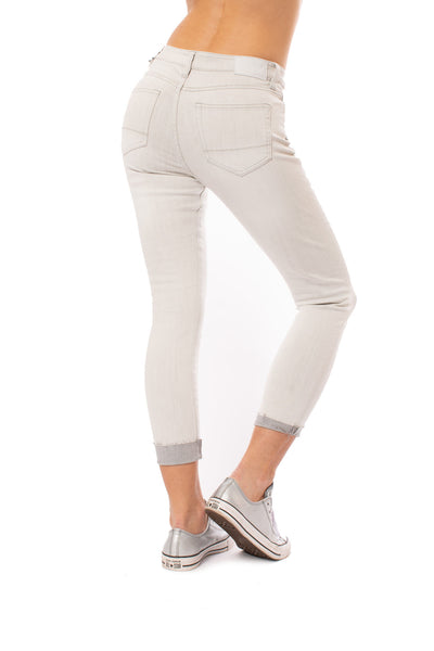 Stonefield - Conrad Ankle Jeans (SW010039, Gray) alt view 2