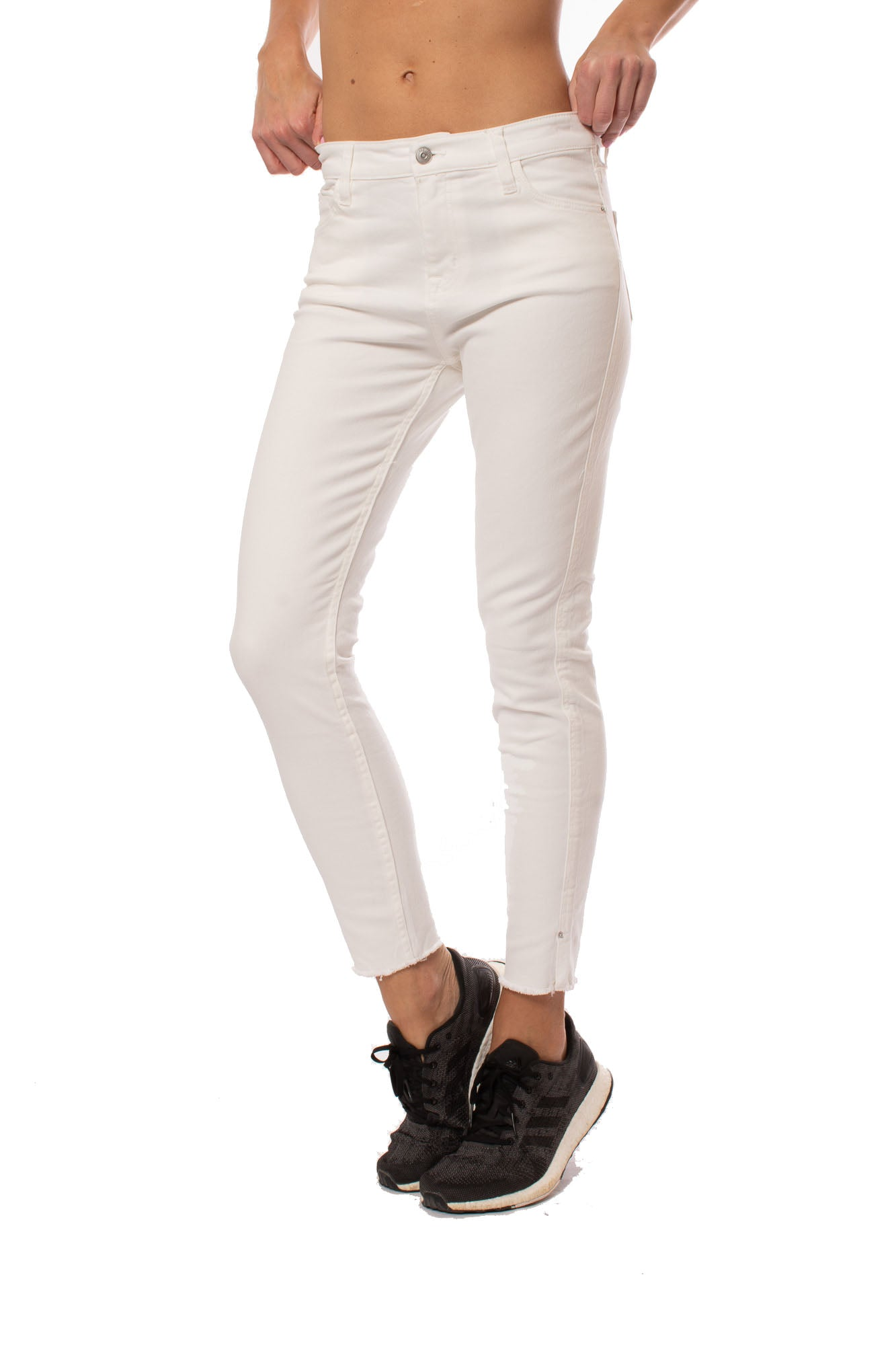 Stonefield - Conrad Ankle White Jeans (SW01002FR, White)