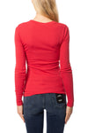 LA Made - Long Sleeve Thermal Sweatshirt (TH-100, Amber Red) alt view 2