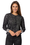 Love Token - Rico Pullover (LT75-164, Grey) alt view 1