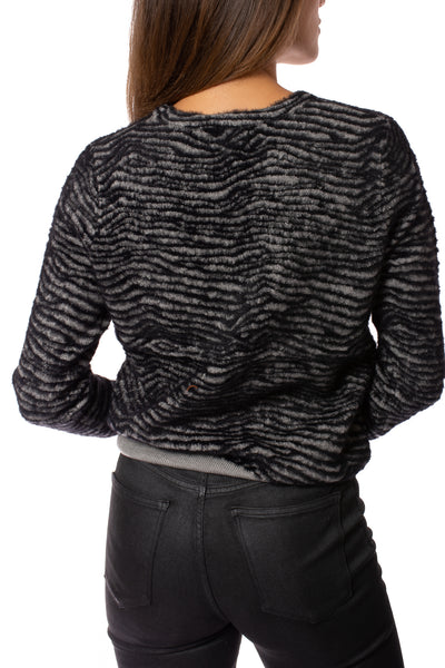 Love Token - Rico Pullover (LT75-164, Grey) alt view 3