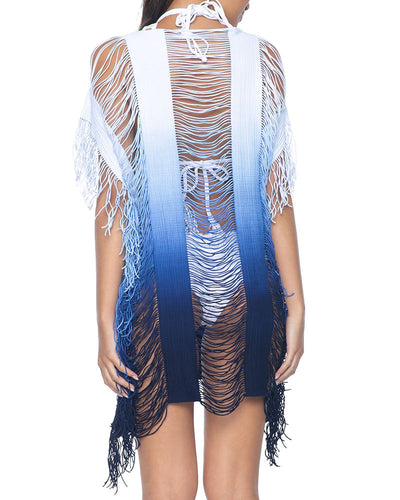 PilyQ Monique Fringe Tunic alt view 1