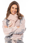 Lou & Co. - Light Pink Scarf (S122, Light Pink)