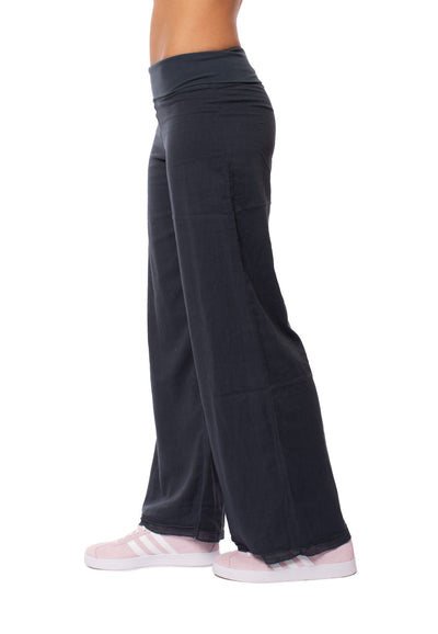 Hard Tail Forever - Double Dry Voile Pant (VL-29, Onyx) alt view 1