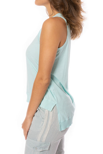 Bobi - Sleeveless Top (57A-91139, Turquoise Blue) alt view 2