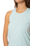 Bobi - Sleeveless Top (57A-91139, Turquoise Blue) alt view 5