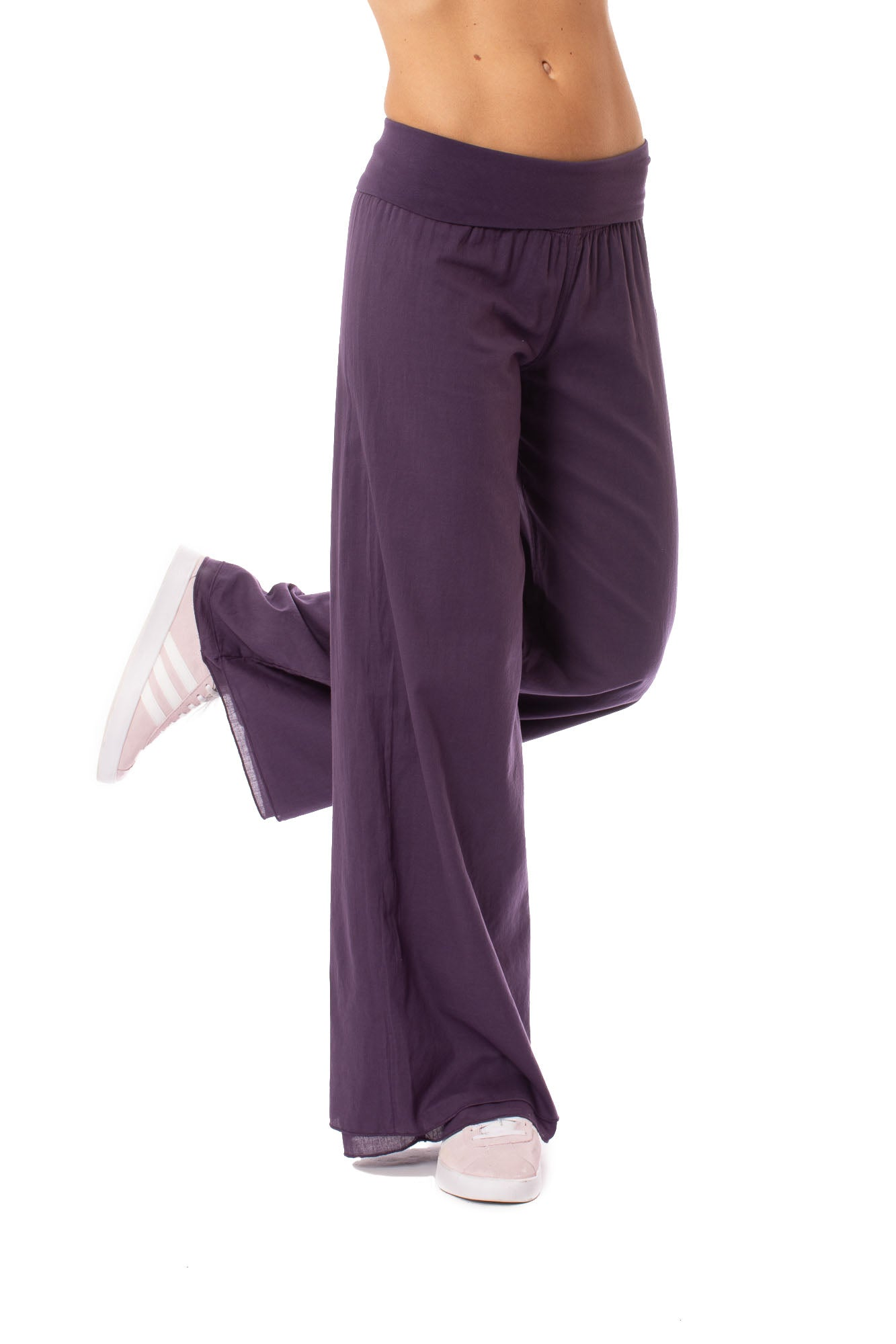 Hard Tail Forever - Double Layered Voile Pant (VL-29, Deep Purple)