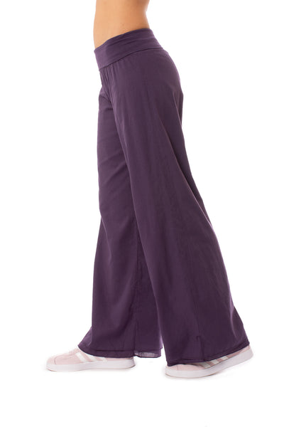 Hard Tail Forever - Double Layered Voile Pant (VL-29, Deep Purple) alt view 1