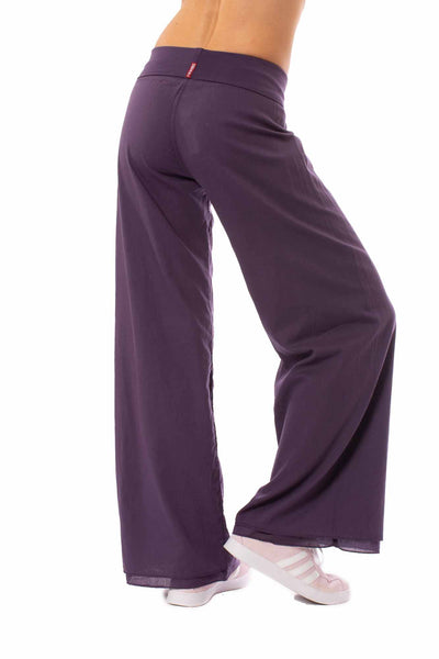 Hard Tail Forever - Double Layered Voile Pant (VL-29, Deep Purple) alt view 2