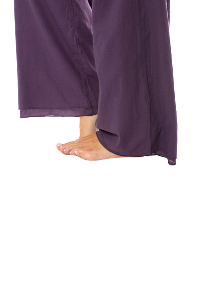 Hard Tail Forever - Double Layered Voile Pant (VL-29, Deep Purple) alt view 5