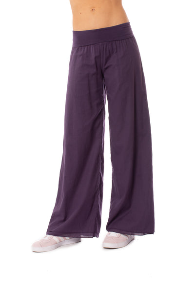 Hard Tail Forever - Double Layered Voile Pant (VL-29, Deep Purple) alt view 7