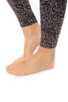 Hard Tail Forever - High Rise Ankle Legging Leopard Print (LW-566, Leopard Wood) alt view 4